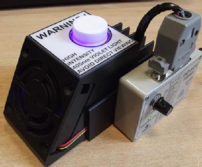 405nm UV reactor