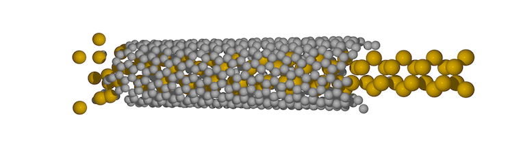 Calculated nanotube filling