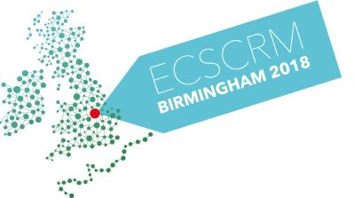 ECSCRM 2018 logo