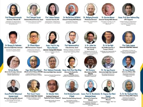 A snapshot of the speakers at the summer school