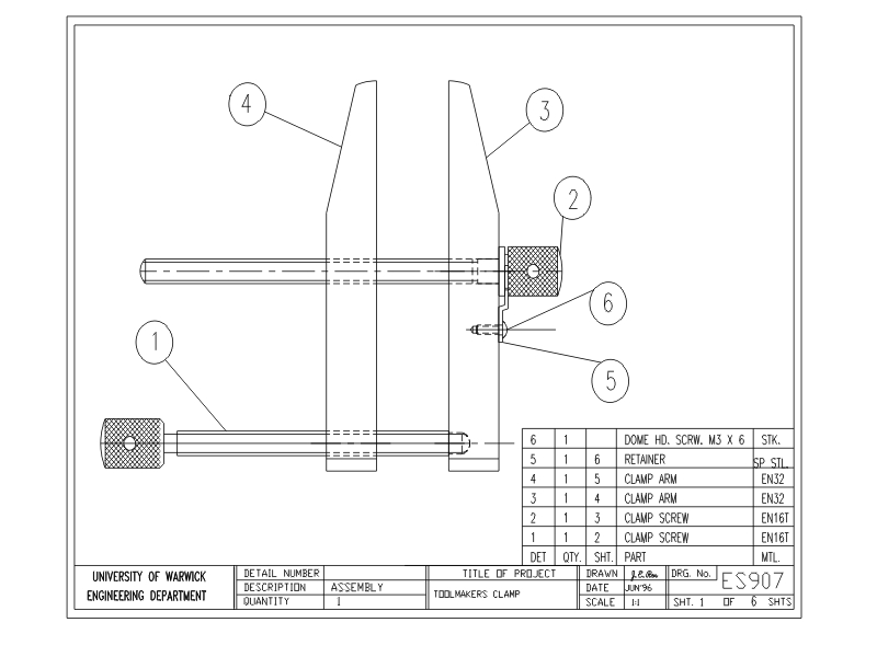 Assembly Line Drawing Easy : Project drawings