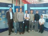 Some of the 2007/08 ESMO EPS team on a visit to ABSL