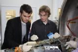 Nick and Ben on a recent visit to ABSL 2