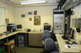 The dyno control room