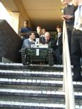 Remotec Chassis - Stairs