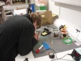 Jon soldering