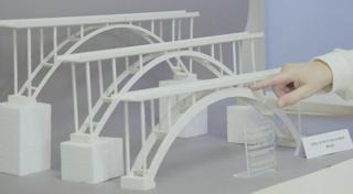 models of bridge structures