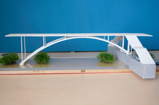 Model of Library Bridge