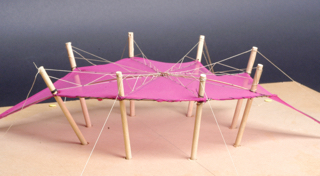 model of tension structure
