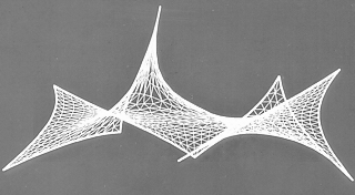 simulation of tension structure