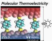 Image Molecular Thermoelectricity