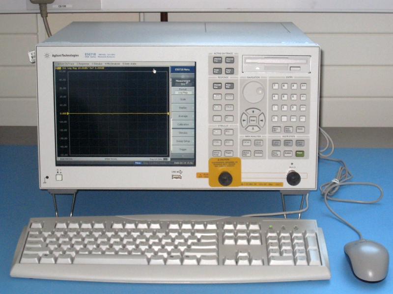 Agilent Network Simulator : Equipment and facilities available at srl