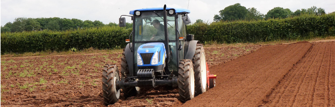 Tractor at Wellesbourne Campus