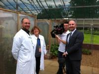 BBC filming at GRU