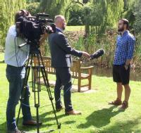 Dan with BBC