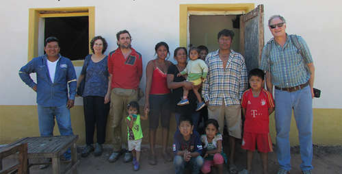 Fixing houses to fight Chagas disease