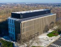 Aerial view of IBRB biomedical research building