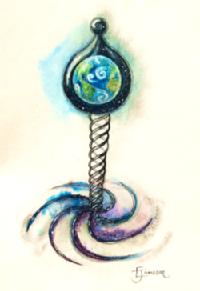 Phage art by Ellie Jameson 2021