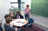 Small group teaching in Mathematics Institute