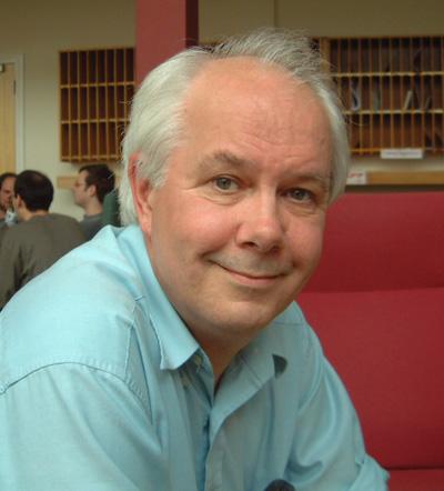 Mathematician Ian Stewart