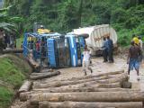 Tanzanian road conditions
