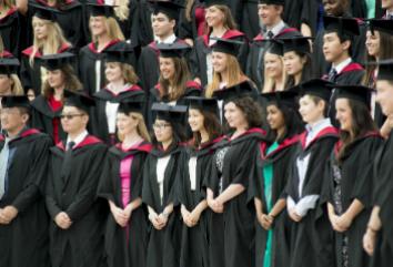 WMS students at graduation
