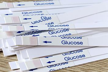 blood glucose testing strips