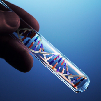 DNA in test tube