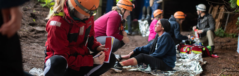 Warwick Medical Students at Wild Trials 2019