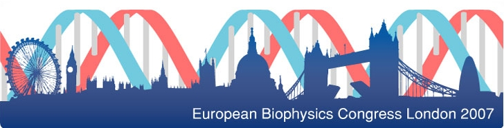 European Biophysicists Congress London 2007 Logo