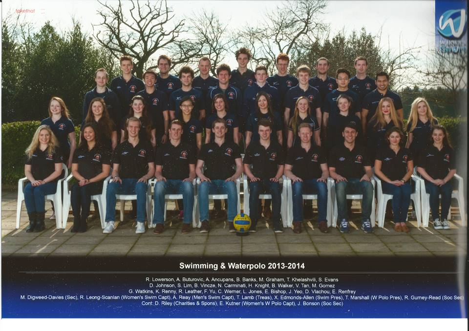 Denise vlachou for University of warwick swimming pool
