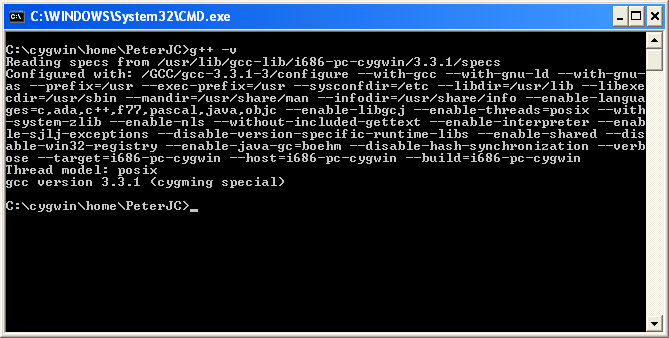 Cygwin - Part Two - Installing GCC
