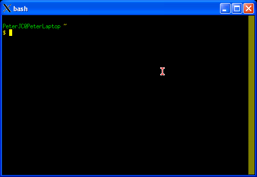 Cygwin - Part Four - Installing the X Windows System on Cygwin