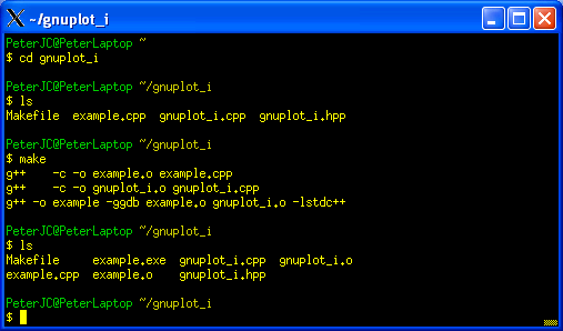Cygwin Part Six Using Gnuplot From A C Program