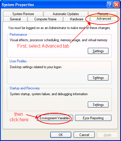 Cygwin - Part One - Installing the basic Cygwin system