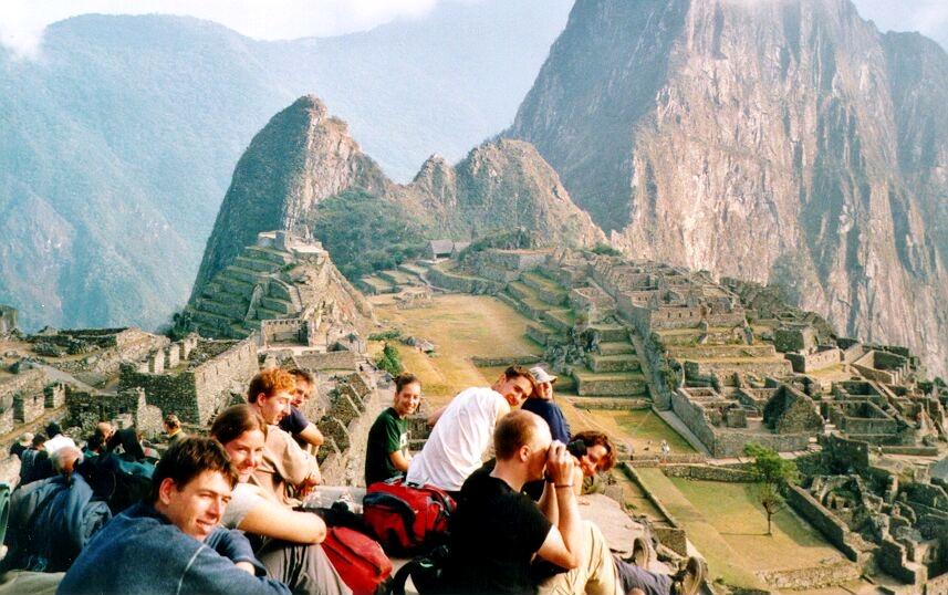 Image Gallery macchu picchu people