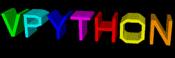 [VPython logo]