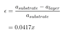 strain equation