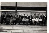 3rd year staff and students 1969