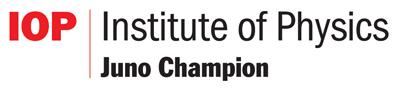 Institute of Physics Juno Champion award logo