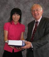 Prize awarded by Professor Cooper to R. Hao for Excellence in the B.Sc. Physics Project