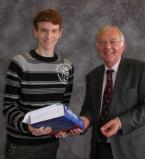 Prize presented for Excellence in the 4th Year: MPhys Graduating Class to L. H. Whitehead