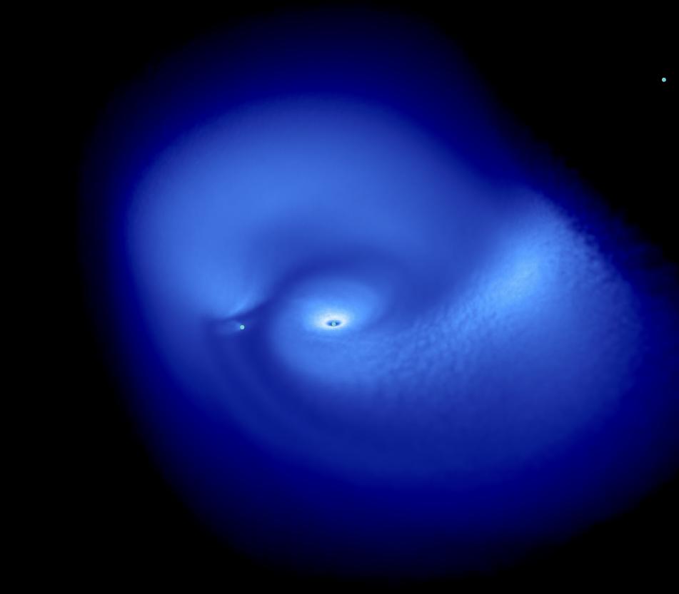 Warped protoplanetary disc