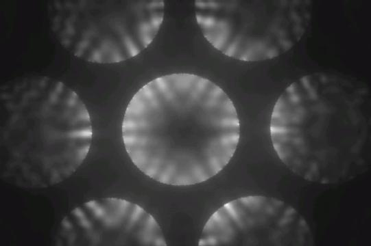 LED electron defraction pattern