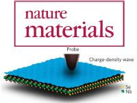 Giant frictional dissipation peaks and charge-density-wave slips at the NbSe2 surface,  M. Langer, M. Kisiel, R. Pawlak, F. Pellegrini, G. E. Santoro, R. Buzio, A. Gerbi, G. Balakrishnan, A. Baratoff, E. Tosatti, and E. Meyer, Nature Materials 13, 173 (2014).