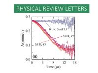 J. A. T. Barker et al., Physical Review Letters 115, 267001 (2015).