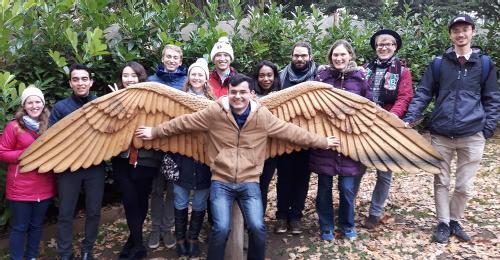The Birdman of Warwick Castle