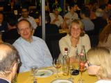 Kurt Kremer and Claudia Kremer, with Aline Miller on the right.