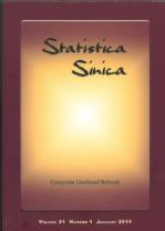 Statistica Sinica Jan 2011 front cover