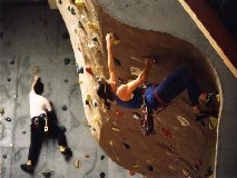 Sports Centre climbing
